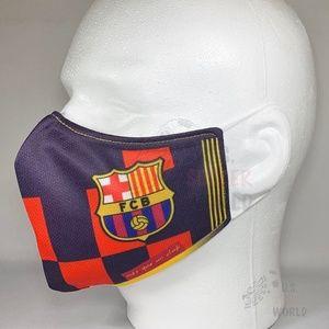New Fashion FC Barcelona Soccer Face Mask Barca